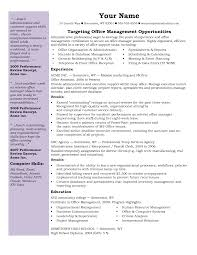 assistant resume samples office  seangarrette co   administrative office assistant cv resume template sample