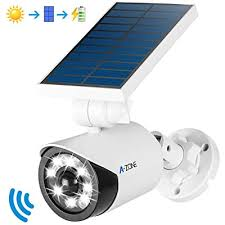 Wireless <b>Solar</b> Flood Light <b>Outdoor IP66 Waterproof</b> White 800 ...