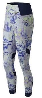 New Balance Womens <b>Printed Evolve Tight</b> White Multi | eBay