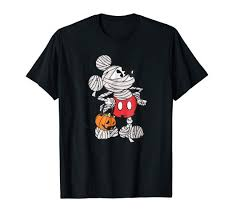 Disney Mickey Mouse Mummy Halloween Tee: Clothing - Amazon.com