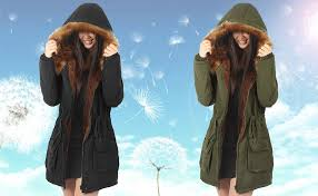 4How Womens Hooded Parka Jacket Warm Winter ... - Amazon.com
