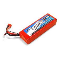 <b>Аккумулятор NVISION</b> 7.4V 5000mAh 45C <b>LiPo</b> Deans plug Hard ...