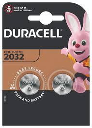Литиевые батарейки <b>Duracell CR2032</b>-<b>2BL</b> 2 штуки в блистере ...