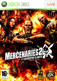 Mercenaries 2 World in Flames RGH + DLC Xbox 360 Español [Mega+]