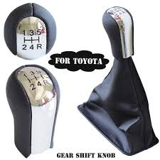 Car Accessories MT 5/<b>6 Speed</b> Car <b>Gear</b> Stick Shifter Knob ...