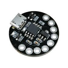 Taidacent 5 Pcs ATTINY85 <b>LilyTiny Lilypad</b> Main Control <b>Board</b> USB ...