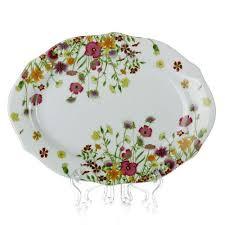 Купить <b>тарелка</b> столовая мелкая <b>domenik meadow</b>, d=24 см ...