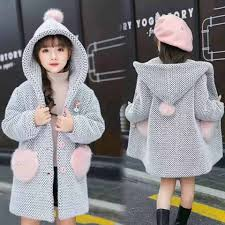 2018 new baby boys girls 90 white duck down long coats thicken jacket large fur collar childrens wear 2 7y clothes