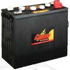 Crown CR-185 <b>12v</b> 185Ah <b>Deep Cycle Battery</b> From £354.99 EX ...