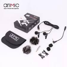 Петличный <b>микрофон Ulanzi AriMic</b> Lavalier DualMic 6 м - купить ...