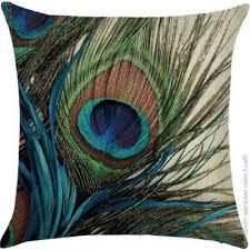 <b>Подушка</b> декоративная Berni Peacock <b>Feather 45 х 45</b> см ...