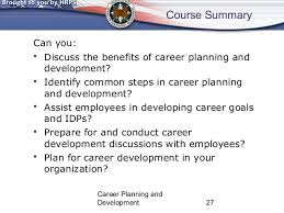 career planning and development class career planning and development 26 27