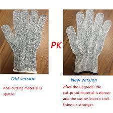 Anti <b>cut</b> Gloves Working <b>Safety</b> Glove Man <b>Cut Proof</b> Kitchen Butcher ...