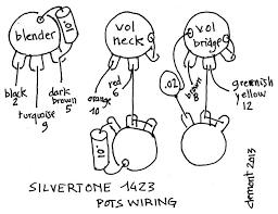 harmony jupiter wiring on silvertone single pickup wiring diagram
