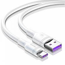 Кабель Type-C - <b>USB</b> 2.0 для зарядки 2 м 5А <b>Baseus Double</b>-<b>Ring</b> ...