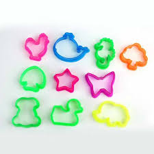 10pcs/<b>set</b> Random Color <b>Plasticine Mold Tools</b> Animal Shape Clay ...