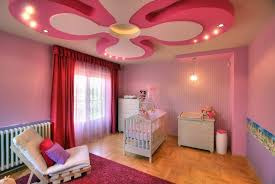 bedroom pink ceiling decorations with baby room lighting ceiling