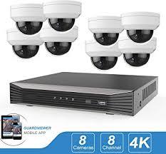 5MP 8CH PoE IP Camera System, 8 Channel 8MP ... - Amazon.com