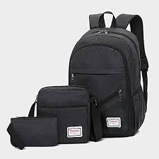 Fashion <b>3pcs</b>/<b>set</b> Boys Girl <b>School Bags</b> Backpack for Teenagers ...
