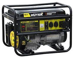 <b>Бензиновый генератор Huter DY9500L</b> (7500 Вт) — купить по ...