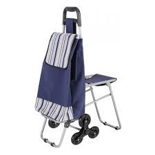 <b>Тележка с сумкой</b> РЫЖИЙ КОТ <b>С302</b> Полоски, складной стул ...