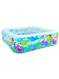 <b>Бассейн</b> Sea World Square <b>Pool</b> детский 145x145x45 <b>Jilong</b> ...