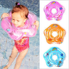 <b>Swimming Baby Pools Accessories</b> Infant Baby Neck Float Tube ...