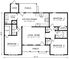 3 bedroom ranch house plans