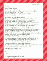 letter from santa spreading the good word of jesus birth  letter from santa spreading the good word of jesus birth 4 different letter templates