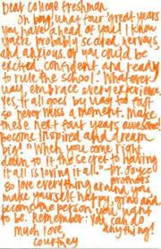 Letter to college bound daughter descriptive essay example spm ...