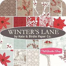 Image result for winter's lane fabric