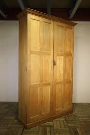 limed oak kitchen units: quality edwardian antique oak cupboard x