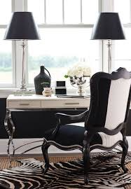 chic black white home office black white home office inspiration