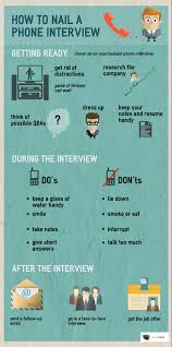 infographic how to nail a phone interview com how to nail a phone interview