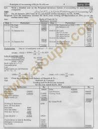 principles of accounting code 438 solved assignments 2014 of aiou code 438 solved assignment spring 2014
