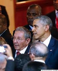 「オバマ大統領の対キューバ政策転換」の画像検索結果