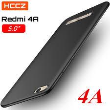 HCCZ Redmi 4A Matte <b>Pure Color Soft Silicone</b> Case for Xiaomi ...