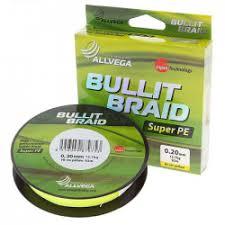 Отзывы о Шнур плетеный <b>Allvega Bullit</b> Braid