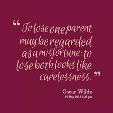 Quotes About Losing Both Parents. QuotesGram