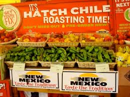 chile season in new mexico.you buy them roasted