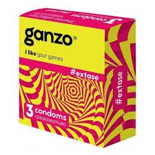 <b>Презервативы GANZO NEW</b> EXTASE, No3 (Точечно-ребристые ...