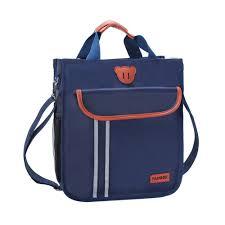 Fashion Tutorial handbag <b>Single Shoulder School Bag</b> Nylon Book ...