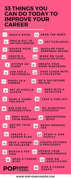 best images about career inspiration female 33 things you can do today to improve your career