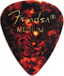 <b>Медиаторы FENDER CLASSIC SHELL</b> MED, средние - купить с ...