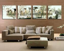 chic large wall decorations living room: ideas for decorating a large wall in living room