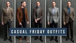 5 Casual Friday Outfits | <b>Business Casual Men's</b> Winter Fashion ...