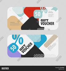 abstract gift voucher or coupon design template voucher design abstract gift voucher or coupon design template voucher design blank print design coupon gift
