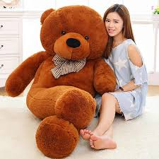 100cm 1m <b>5 Colors</b> Giant <b>Large Size</b> White Teddy Bear Plush Toys ...