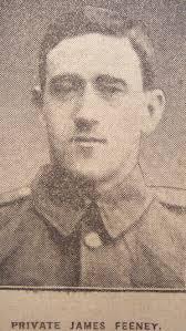 Private James Feeney 5189 1st East Lancashire Regiment - feeneyjames5189