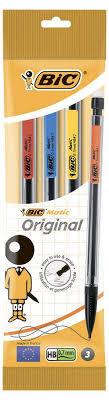 <b>Набор</b> механических <b>карандашей</b> Bic Matic, 0.7 мм, <b>3</b> шт - купить ...